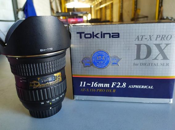 Lente Tokina At-x 116 Pro Dx- Ii 11-16mm F/2.8 (para Nikon)