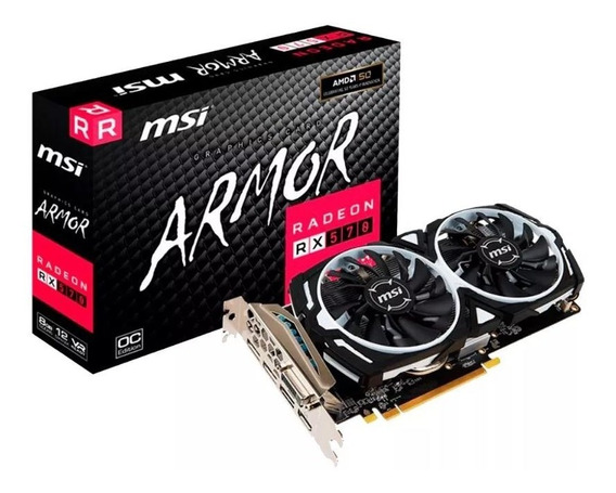 Placa De Video Amd Radeon Rx 570 8gb Gamer Mexx 1