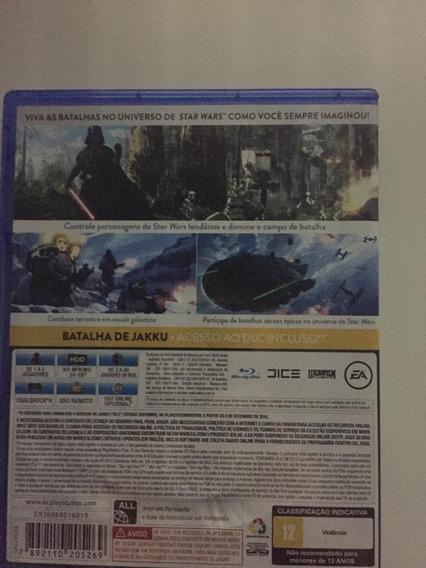 Star Wars Battlefront-ps4 Preço Imperdível