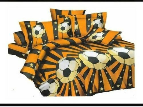 Acolchado Linea Futbol Peñarol 1 Plaza Ziporah Cotton Flor