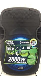 Bafle Parlante Portátil 15 Bluetooth 115 2000 W Led