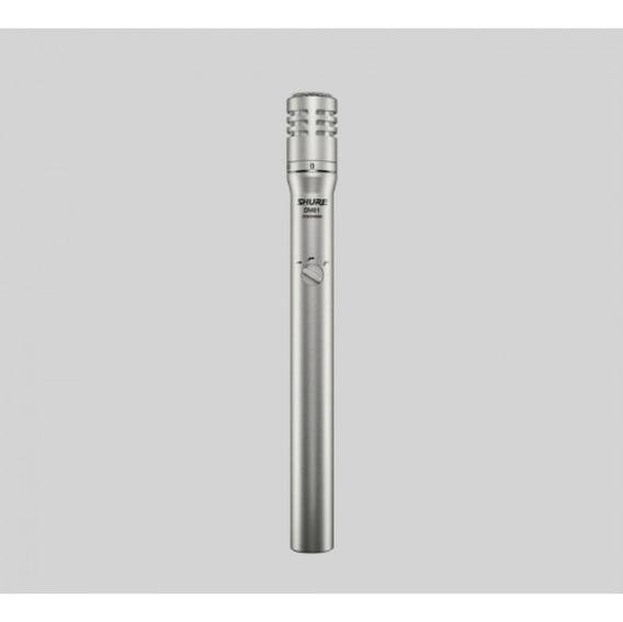 Microfone Shure Sm81 P/ Instrumentos E Chave Atenuadora 10db