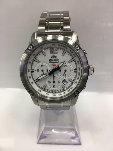 Reloj Orient Acero Hombre Ftw01005w0 Original