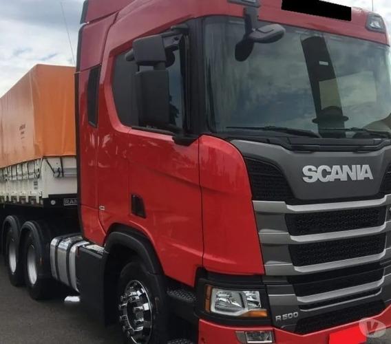 Scania R-500 Com Bi-trem 2019 Parcelado