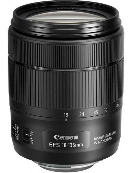 Lente Canon Ef-s 18-135mm F/3.5-5.6 Is Usm Nano - Nova !