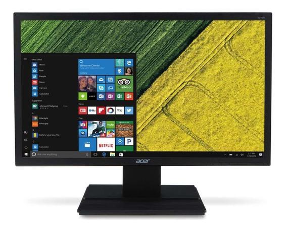 Monitor Acer V246hql 23.6 Full Hd 60hz Vga Dvi Hdmi