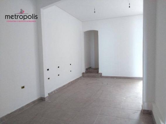 Salão Para Alugar, 150 M² Por R$ 3.170,48/mês - Centro - São Caetano Do Sul/sp - Sl0033