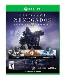 Destiny 2: Renegados Colección Legendaria - Xbox One