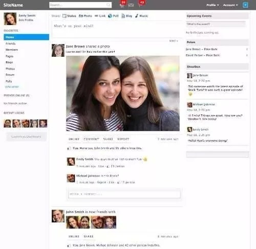 Script Rede Social V3.8.0 + Instalação+configuração+tradução