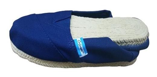 Alpargata Confortable Premium Reforzada Lona Base Pvc