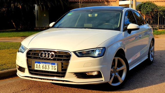 Audi A3 1.8 Sedan T Fsi 180 Cv Stronic 7at Con Levas - 2016