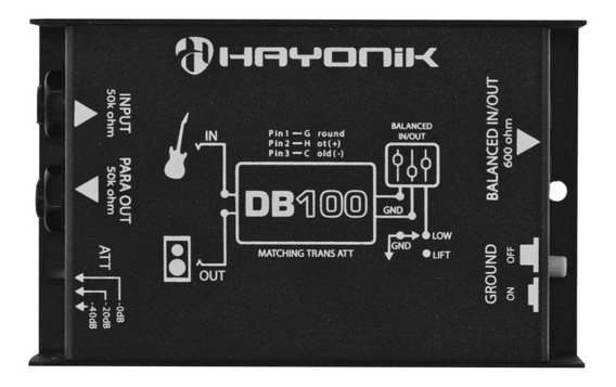 Direct Box Passivo Db100 Hayonik