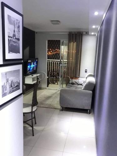 Imagem 1 de 10 de Apartamento À Venda Em Residencial Parque Da Fazenda - Ap014417