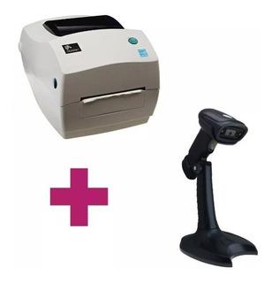 Impresora De Codigos Gc420t + Lector De Codigos