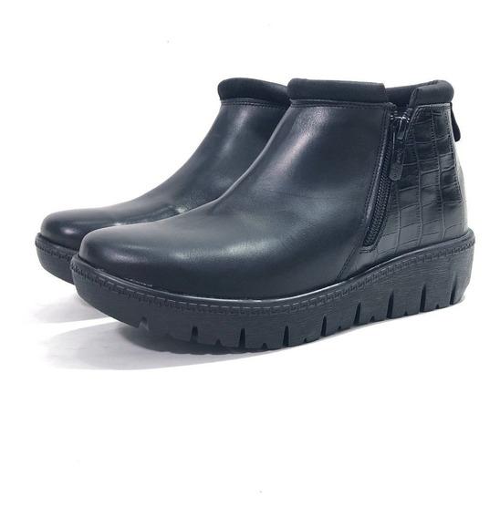 Botineta Gravagna 3051 Cuero El Mercado De Zapatos!