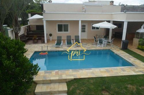 Imagem 1 de 30 de Casa Com 4 Dormitórios À Venda, 420 M² Por R$ 1.575.000,00 - Jardim Europa - Vargem Grande Paulista/sp - Ca0001