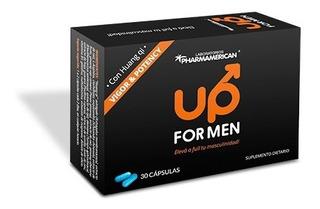 Up For Men Suplemento Dietario Vigor Y Potency Con Huang Qi