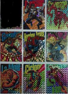 Pepsi Prisma Del 2 Al 9 Marvel Cómics 1994