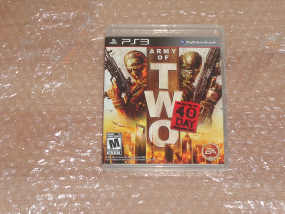 Army Of Two The 40 Day - Ps3 - Frete R$ 17 - Novíssimo
