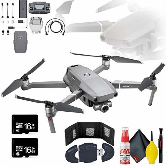 Camara Mavic Zoom 2 Bundle Usb Card Reader Sd Microsd 16gb ®
