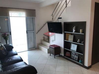 Cobertura Residencial,mobiliada Para Venda E Locação, Jardim Do Mar, São Bernardo Do Campo. - Co50292