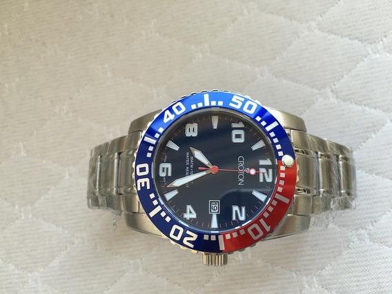 Relógio Croton Blue Wave Dial 300m Promoção