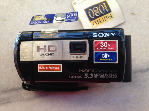 Sony Hdr-pj200 High Definition Handycam