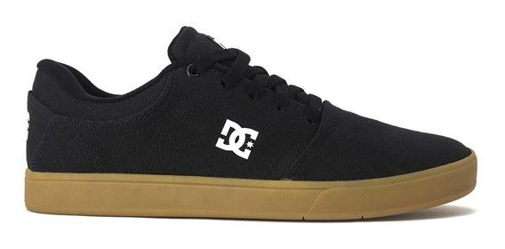 Tenis Dc Shoes Crisis Tx Black/gum Original Frete Gratis