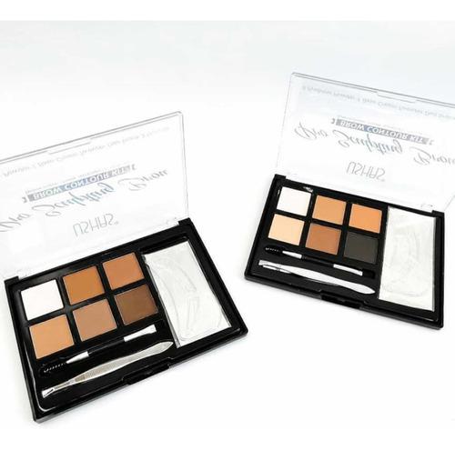 Kit De Cejas Set De Sombras Para Cejas Brows Myk Maquillaje