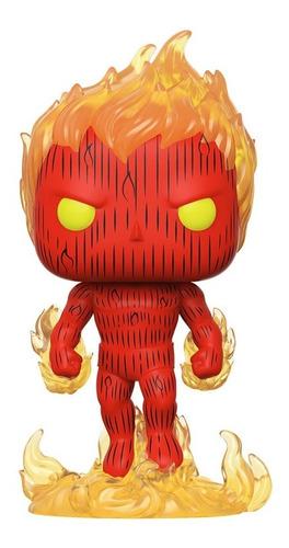 Figura Funko Pop Marvel Fantastic Four - Human Torch