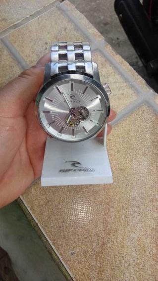 Relógio Relógio Curl Detroit Automatic 21 Jewels Prata