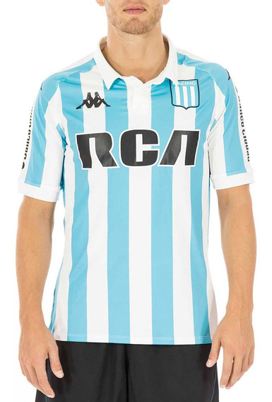 Camiseta Oficial Racing Club 2018 Blanco Hombre Kappa