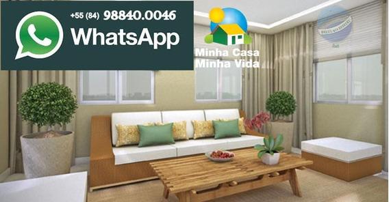 Apartamento Em Parnamirim, Pelo Programa Minha Casa Minha Vida - Residencial Morabem - Ap0056