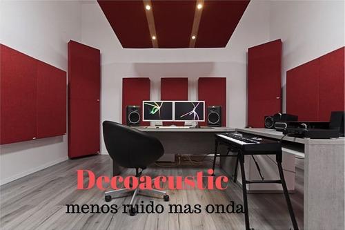 Paneles Acusticos Decoacustic Kit Sala 20 Unidades
