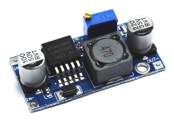 Regulador Tensão Controlador Lm2596 Arduino Pic Raspberry