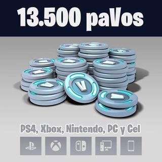 13500 Pavos (todas Plataformas) 100% Seguro Y Rapido