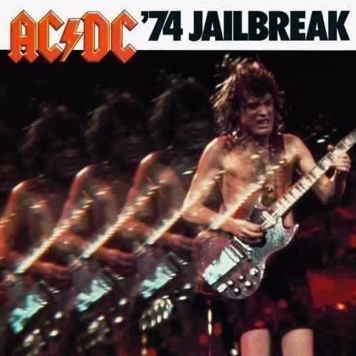 Cd Ac/dc ´74 Jailbreak - Digipack Box Novo E Lacrado!