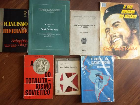 7 Livros Raros E Antigos Sobre Socialismo E Comunismo