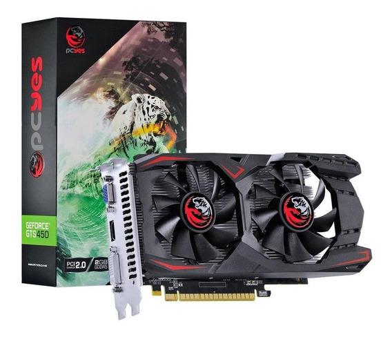 Placa de vídeo Nvidia Pcyes GeForce 400 Series GTS 450 PA45012802G5 2GB