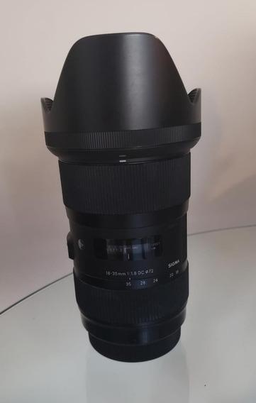 Sigma 18-35mm Art 1.8 Canon