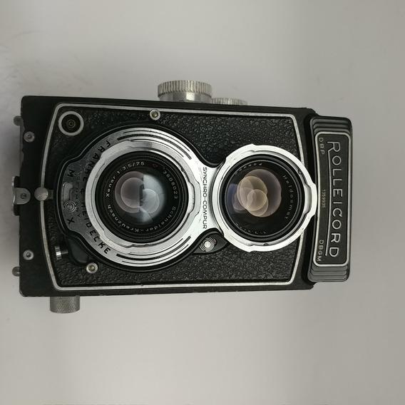 Câmeras Fotográficas Colecionáveis: Rolleicord Iii Model K3b
