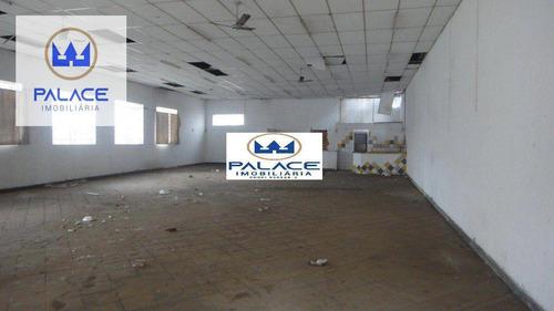 Imagem 1 de 5 de Barracão Para Alugar, 177 M² Por R$ 6.000/mês - Centro - Piracicaba/sp - Ba0078