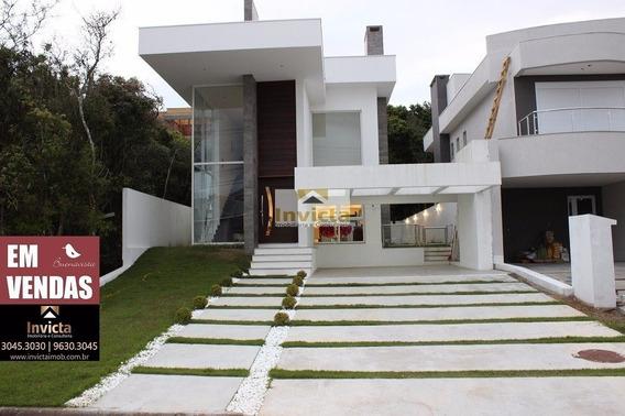 Casa Em Alto Padrao De Acabamento No Buena Vista - V-8