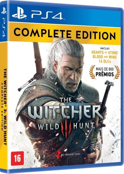The Witcher 3 Complete Ps4 Psn Code 2 Português
