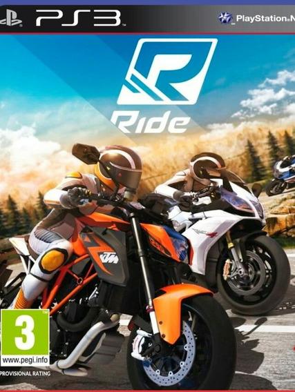 Ride Ps3 Jogo Play3 Comprar