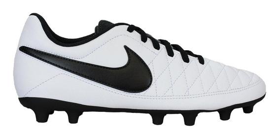Botines Nike Majestry Fg Niños Tapones Nuevas Aq7897-107