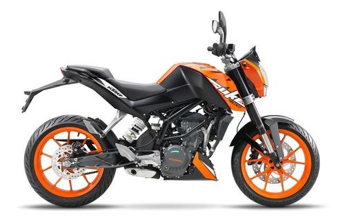 Ktm Duke 200 0km Naranja 2021 Automoto Lanus