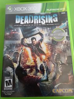 Dead Rising Xbox 360 Videojuego Disco Original Fisico