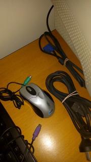 Monitor, Teclado Y Mouse