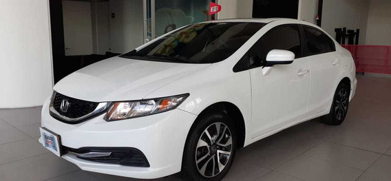 Honda Civic Exl 2015 At Blanco